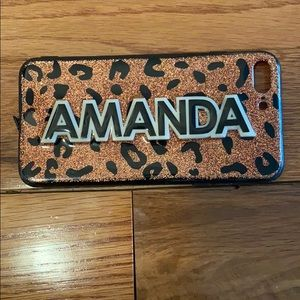 "Leopard ""Amanda"" iPhone case"